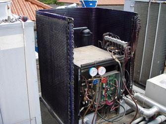 空気環境管理・空調機等フィルター清掃、洗浄、交換再利用の様子