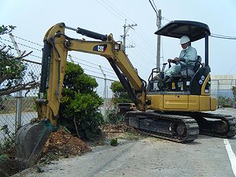 造園工事・緑地管理・土木工事の様子